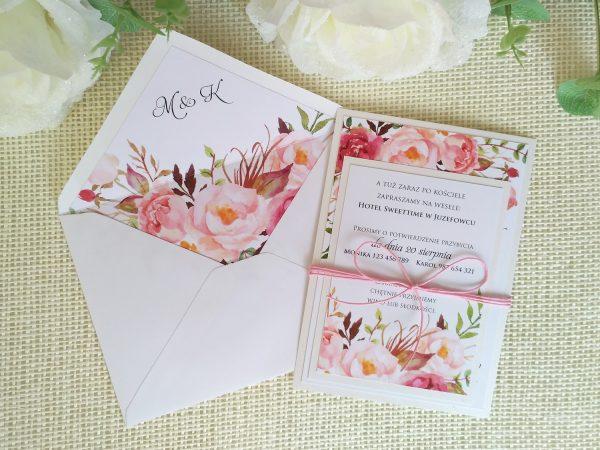 Prima-23 romantic floral – biel