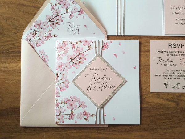 Zaproszenia ślubne – wiosenne