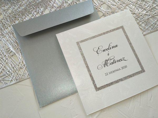 Zaproszenia ślubne – wytłaczane serca